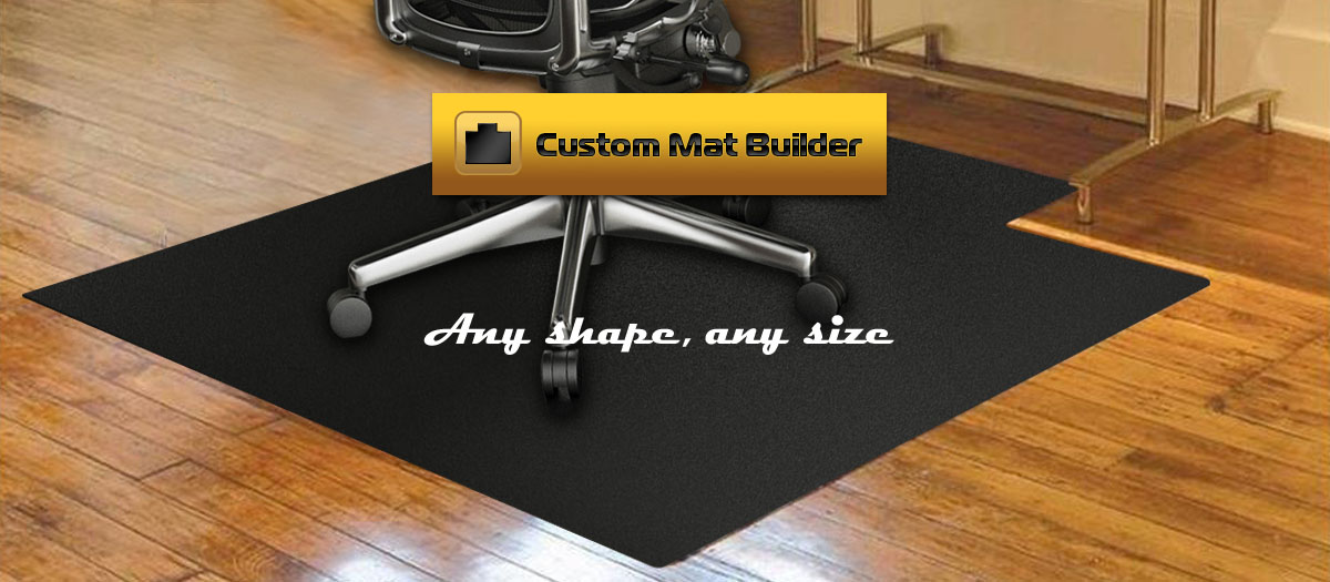Wood floor mats for chairs floor matttroy for Wood floor mat
