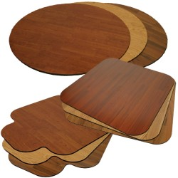Merveilleux Laminated Chair Mats