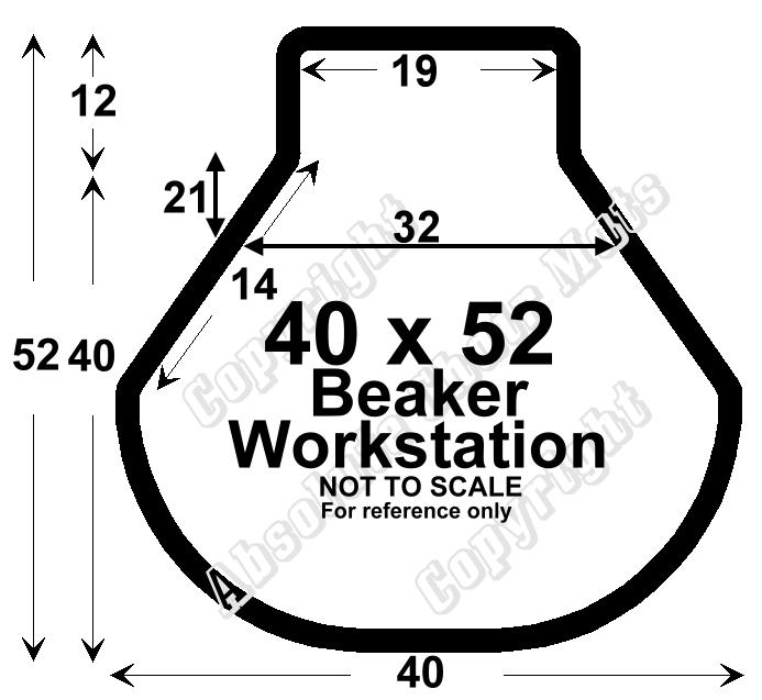 Vent-A-Mat 250 40x52-Beaker